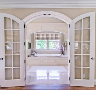 Clark Woodworks Manufactures Custom Interior Wood Archway Kits Arches Archways Curved Doorways And Openings Door Molding Trim